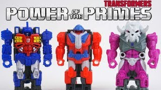 Transformers Power of the Primes Wave 1 Primemasters One Step Changers