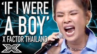 FLAWLESS 'If I Were A Boy' Cover...Beyoncé Is That You? | X Factor Global