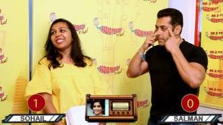 Salman Khan & Sohail Khan Play Pehchan Kaun | Tubelight | RJ Prerna