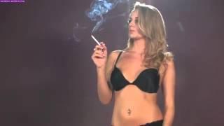 Model Dannii smoking corks HD HQ
