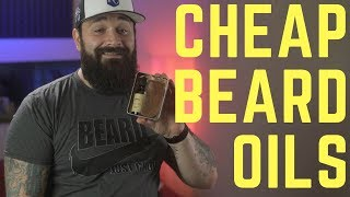 Review of the 5 CHEAPEST beard oils on Amazon Prime