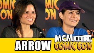 ARROW - MCM Comic Con Panel - Willa Holland & Katrina Law