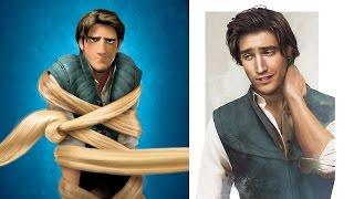 Disney Karakterleri Gerçek Olsaydı ! :)