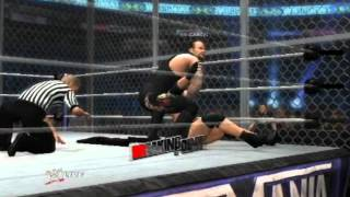 WWE 12: Goldberg VS Undertaker [HELL IN A CELL]