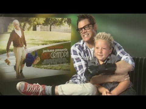 Johnny Knoxville interview: Bad Grandpa jokes around in funny interview