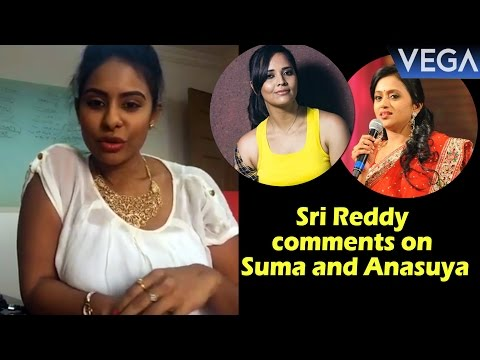 Xxx Mp4 Actress Sri Reddy Sensational Comments On Anchor Suma And Anasuya 3gp Sex