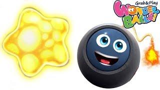 Funny Wonderballs & Squishy Balls Vs Giant Star Creative Fun For Kids Wonderballs Official