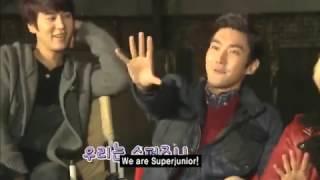 Super Junior Slogan Battle (FUNNY)