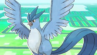 Pokemon Go: Full Articuno Legendary Raid Battle and Catch - Pokemon Go Fest 2017