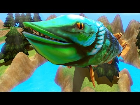 FLYING PIKE LEVEL 195 Feed and Grow Fish Part 4 Pungence