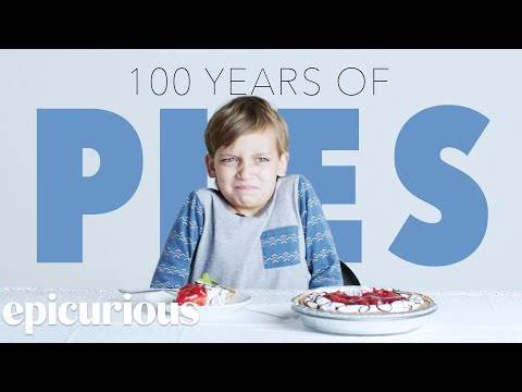 Kids Try 100 Years of Pies Bon Appetit
