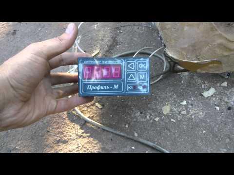 Муфельная печь с терморегулятором своими руками 61