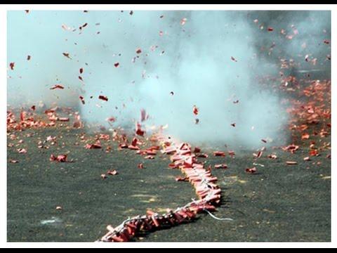 Ganpati Visarjan || Amazing Fire Crackers Celebration In Mumbai India 2015 HD