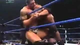 Bobby lashley vs Batista