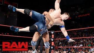 John Cena vs. Jason Jordan: Raw, Sept. 4, 2017