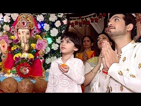 Xxx Mp4 Arjun Bijlani Celebrates Ganesh Chaturthi With Family 3gp Sex