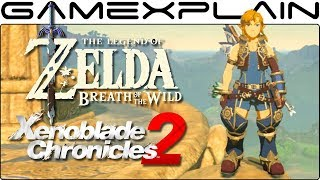 Zelda: Breath of the Wild - How to Complete the Xenoblade Chronicles 2 DLC Sidequest (Armor Guide)