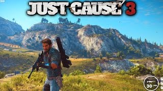 JUST CAUSE 3 GAMEPLAY - (Just Cause 3 Free Roam Gameplay) 1080p 60fps