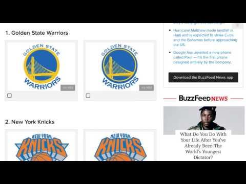 Hardest NBA Logo Quiz!!!