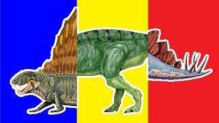 Wrong Heads Dinosaurs! Match Up Game For Kids Learn Dimetrodon Stegosaurus Tsintaosaurus Badbaby Cry