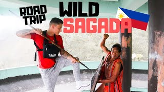 Travelling to Sagada on the most DANGEROUS road in the Philippines!! Things got WILD!!!