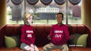 Boodocks Season 3 Episode 1 It's a Black President, Huey Freeman Part 1