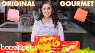Pastry Chef Attempts to Make Gourmet Starbursts | Gourmet Makes | Bon Appétit