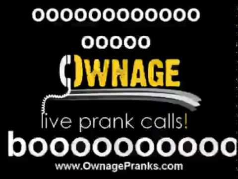 Ownage Prank Calls - Angry Asian Restaurant