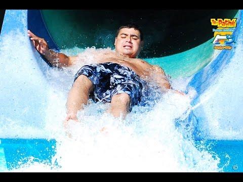 Adrenalina al máximo en el Balneario Te Pathé