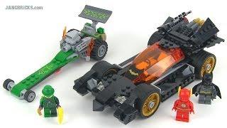LEGO DC Super Heroes 76012 Batman: Riddler Chase set review!
