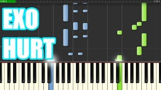 EXO - Hurt Piano & Music sheet 엑소 피아노 커버