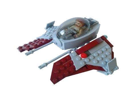 Xxx Mp4 Lego Star Wars Obi Wan S Jedi Interceptor MOC With Tutorial 3gp Sex