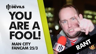 Biggest Fool In Manchester! | Manchester United 0-3 Manchester City | ANDY TATE RANT