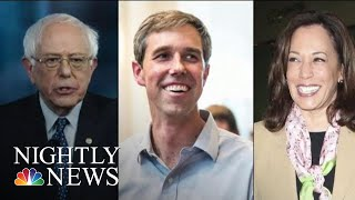 Democratic Candidates Visit Florida Migrant Facility Ahead Of 2020 Debate | NBC Nightly News