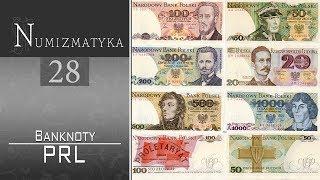 Zestaw banknotów PRL - jak można było dużo zarobić - Numizmatyka cz. 28