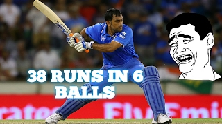 38 runs in 6 balls || Worst over in Cricket History||
