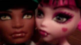 A Short Monster High Doll Movie 25 (Halloween Prom?)