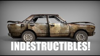 LOS AUTOS INDESTRUCTIBLES!