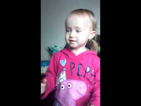 My little girl Ella singing Adele so cute xxx