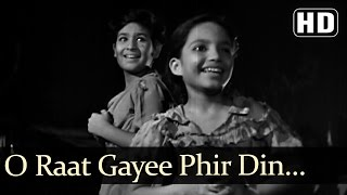 Raat Gayi Fir Din - David - Ratan Kumar - Baby Naaz - Boot Polish - Asha - Manna Dey - Hindi Song