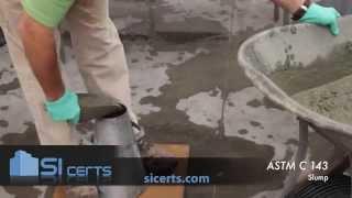 ACI Slump Test: ACI ASTM C143 Concrete Slump 2014