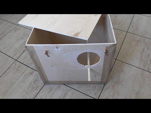 Гнездовой ящик для кореллы