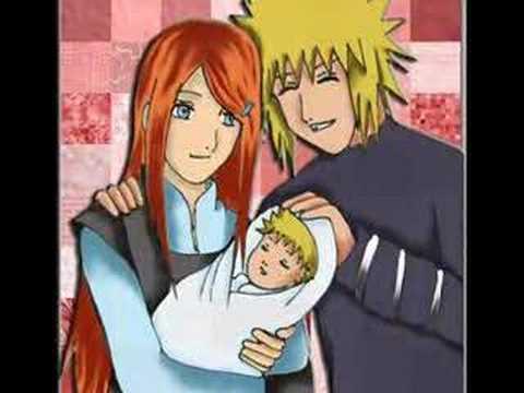 Minato Kushina and Naruto