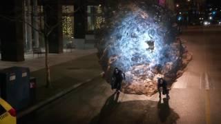 Three Speedsters vs Grodd's Army/ Solivar vs Grodd- The Flash  S03E14