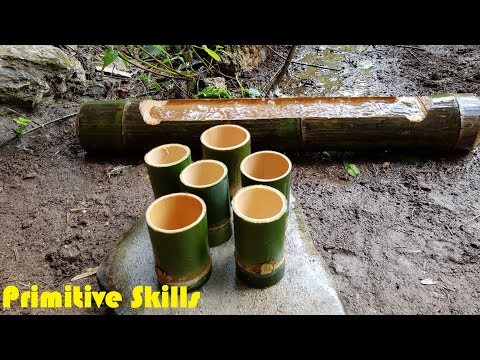 Primitive Technology: Cup of Water