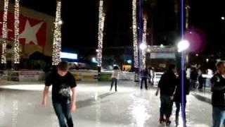 Ashish ice skating