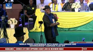 Accord Party Flags Off Governorship Campaign In Rivers Pt.3  Live Event 