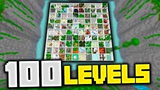 Minecraft PARADISE PARKOUR 3! (Over 100 Stages & 2 Hour Long Parkour Map!) w/PrestonPlayz