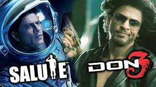 2019 Shahrukh Khan Double Dhamaka | SALUTE And DON 3 Shooting Together