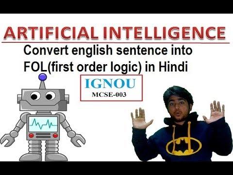 Xxx Mp4 First Order Logic In Artificial Intelligence 10 FOL Hindi IGNOU MCSE 003 3gp Sex